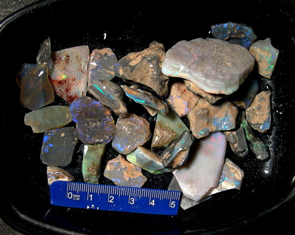 mixed rough opal parcel OR-15